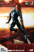 "Prebuilt Model Iron Man 3 - Mark 16 - Black Stealth Suit ""Nightclub"". 1/24 DRAGON 35603"