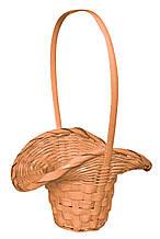 Кошик з лози персикова (29 х 23 см)