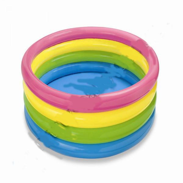 Бассейн надувной детский пылающий закат Intex 56441