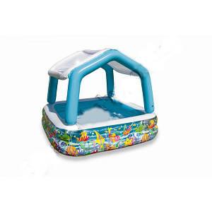 Детский бассейн Intex 57470 со съемной крышей