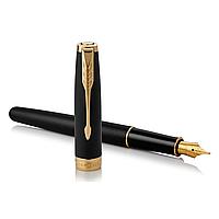 Перьевая ручка Паркер - Parker Sonnet 17 Matte Black GT