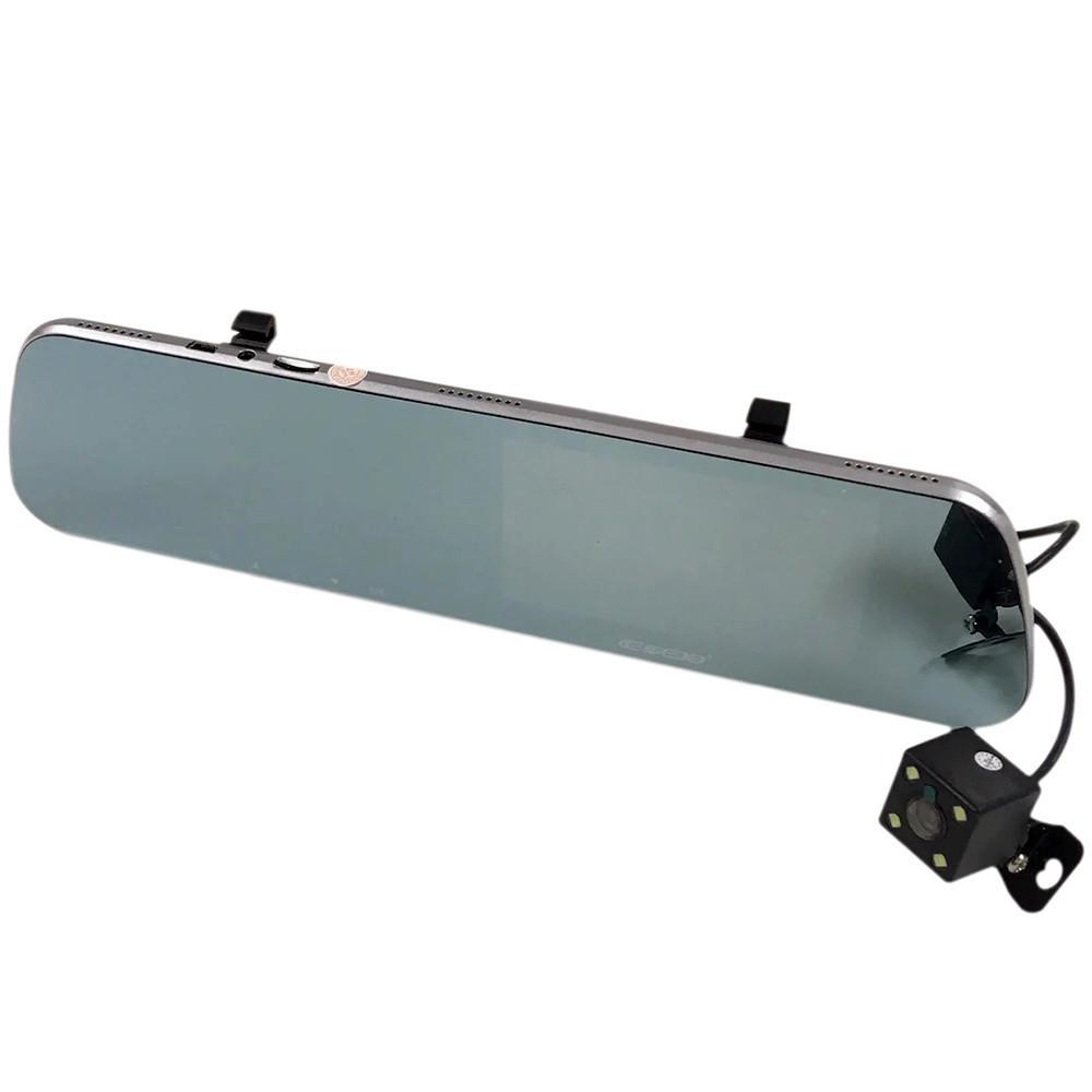 Автомобильный видеорегистратор , зеркало с камерой заднего вида A32 *3011013359 [211] + ПОДАРОК: Держатель для