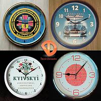 Настенные часы с логотипом, фото 1