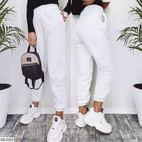 Женские спортивные штаны на флисе