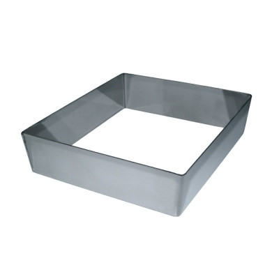 Форма металева квадрат 22*22см һ10см