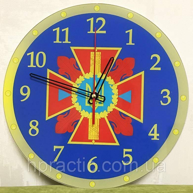 """Часы с логотипом """"МНС"""" Д=350 мм"""