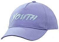 Бейсболка вышивка YOUTH светлый фиолет