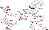 Кронштейн заднего бампера левый киа Соренто 3, KIA Sorento 2015-18 UM, 86671c5000, фото 3