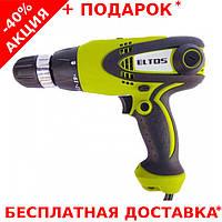 Дрель - шуруповерт сетевой ELTOS ДЭ-920/2 для профессиональных работ