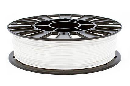 CoPET (PETg) пластик для 3D  друку .  1.75 мм.  0.75 кг.  3dplast Білий