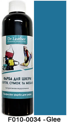 "Краска для кожи автомобиля 250 мл.""Dr.Leather"" Touch Up Pigment Glee, фото 2"