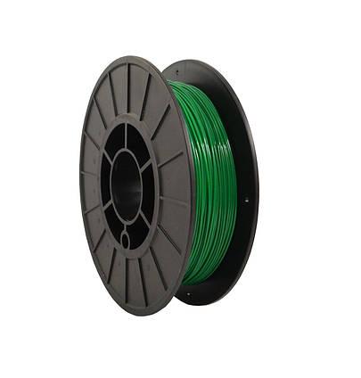 CoPET (PETg) пластик для 3D  друку .  1.75 мм.  0.75 кг.  3dplast Зелений