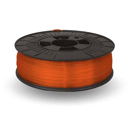 CoPET (PETg) пластик для 3D  друку .  1.75 мм.  0.75 кг.  3dplast Помаранчевий