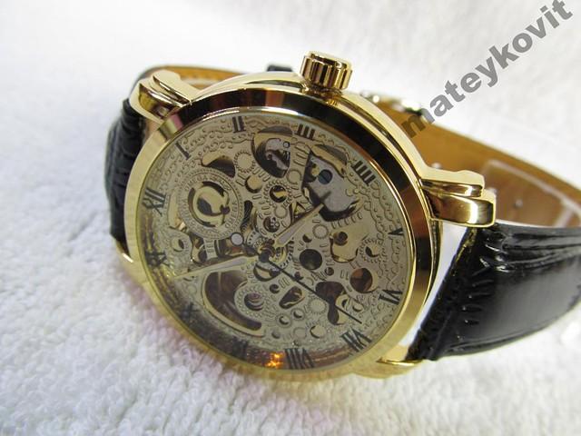 Мужские часы с автоподзаводом скелетоны