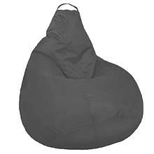 Кресло мешок SOFTLAND Груша для подростков L 110х80 см Серый (SFLD16)