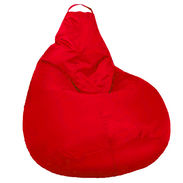 Кресло мешок SOFTLAND Груша для детей M 90х70 см Красный (SFLD8)