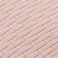 Вязаный плед Шато розовая пудра ТМ Прованс, фото 2