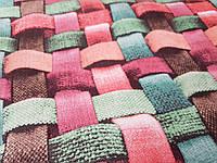 Оббивна тканина антикоготь Флок Арізона колір Червоний для перетяжки меблів виробництво Туреччина