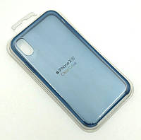 Чехол iPhone XR Silicon Case Clear Blue