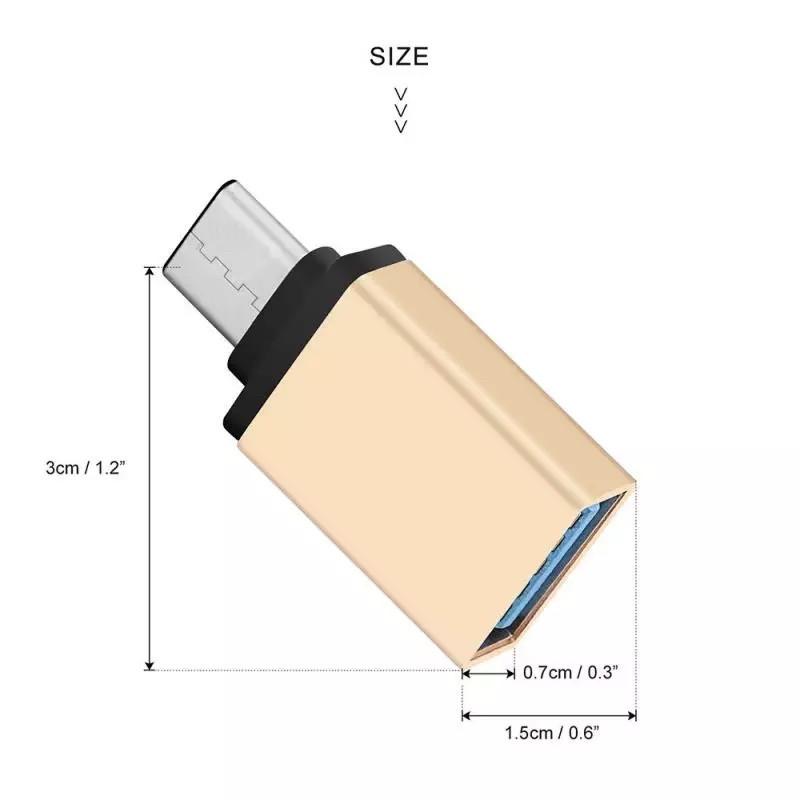 Адаптер переходник для USB Type C OTG 3.1 Xiaomi/Nexus/Meizu/MacBook