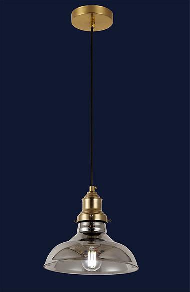 Підвісний одноламповый світильник у стилі лофт 91601-1