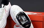 Женские кроссовки Nike Air Force 1 low white black 36-45рр. Живое фото. Реплика, фото 3