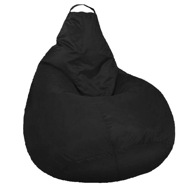Кресло мешок SOFTLAND Груша для детей M 90х70 см Черный (SFLD1)