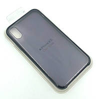 Чехол iPhone XR Silicon Case Clear Black