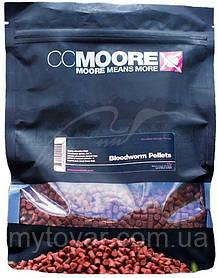 Пеллетс прикормочный для рыбалки по 100 грамм. Пеллетс CC Moore Bloodworm 6mm