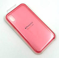 Чехол iPhone XR Silicon Case Clear Pink