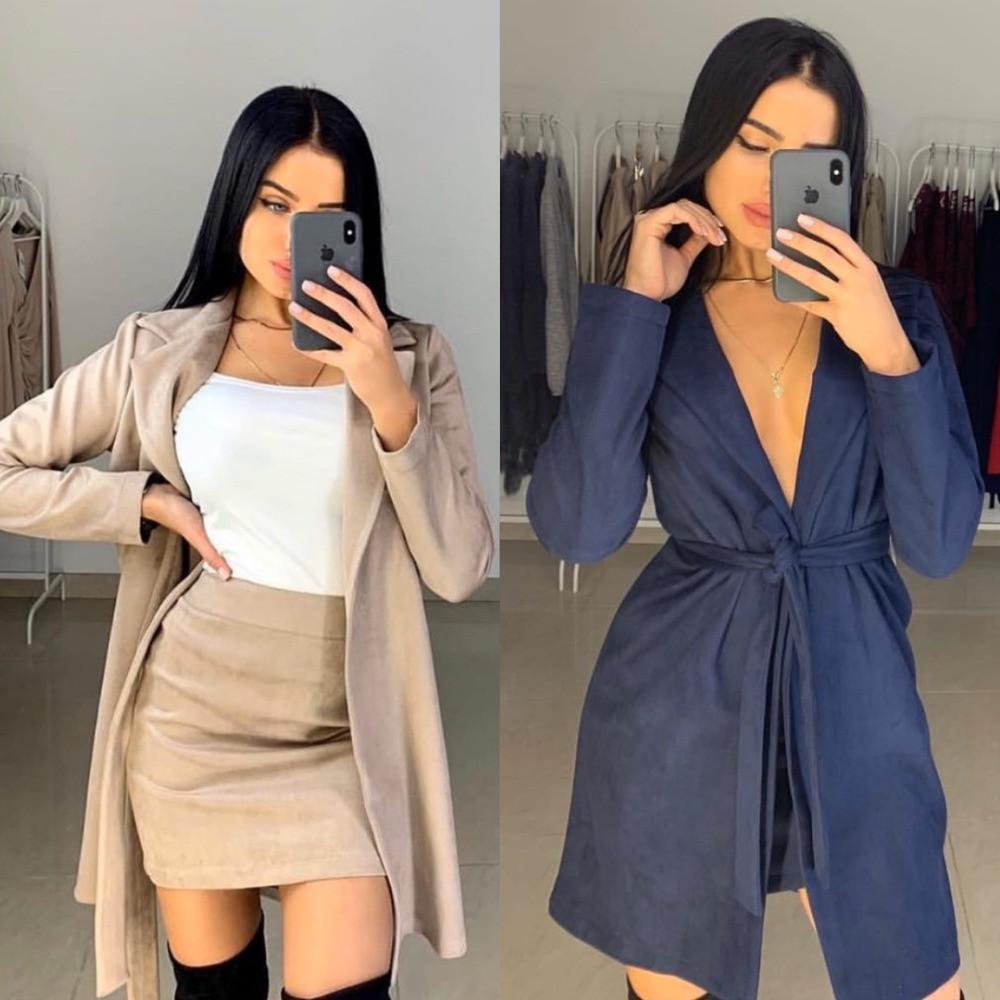 Костюм тройка женский, кофточка + удлиненный кардиган и короткая юбка, повседневный, офисный, стильный, модный