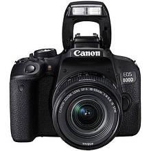 Фотоаппарат Canon EOS 800D Kit 18-55mm f/4-5.6 IS STM Гарантия от производителя 24 мес / в магазине