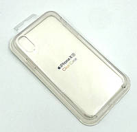 Чехол iPhone XR Silicon Case Clear White