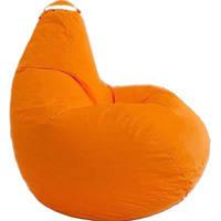Кресло мешок SOFTLAND Груша стандартный взрослый XL 120х90 см Оранжевый (SFLD39)