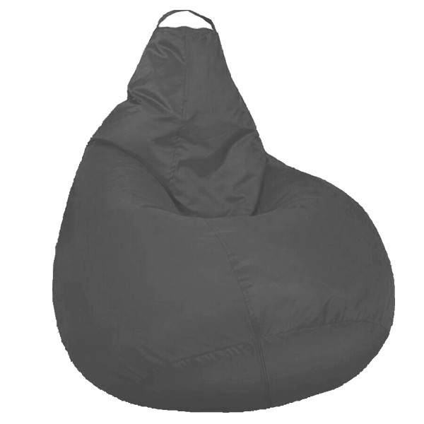 Кресло мешок SOFTLAND Груша XXL 130х100 см Серый (SFLD44)