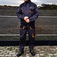 Спецодежда комплект рабочий костюм! FJB-LUX! Куртка и Полукомбинезон! Роба, спец одежда!