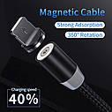 YKZ Магнитный micro USB кабель зарядный шнур для мобильного, фото 10