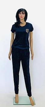 Костюм велюровый футболка и штаны, производство Украина, Triko