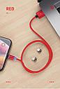 YKZ Магнитный micro USB кабель зарядный шнур для мобильного, фото 3