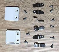 Крепления внутренних москитных сеток VIP ручки пластик для пятикамерного профиля