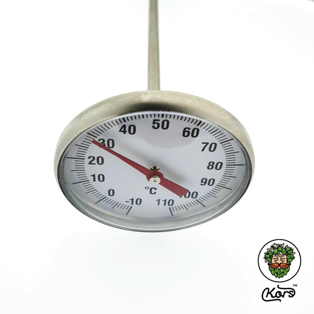 Механический термометр со щупом 4 мм.
