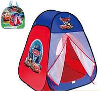 """Палатка детская игровая """"Тачки"""" с занавеской 811S"""
