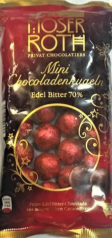 Конфеты Moser Roth mini chocolat Edel bitter 70%150 g, фото 2