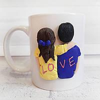 Кружка визнання в любові В подарунок коханій дівчині дружині на 14 лютого день святого Валентина