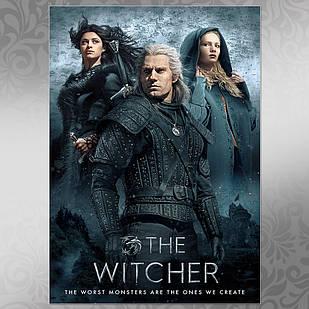 Плакат Ведьмак