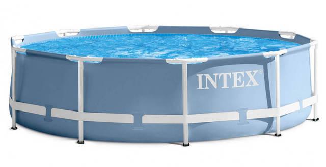 Сборный каркасный бассейн 366*76 см Prism Frame Intex 28710, фото 2