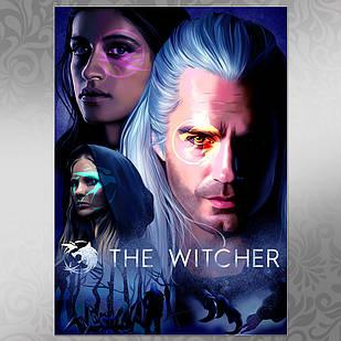 Плакат Ведьмак 002