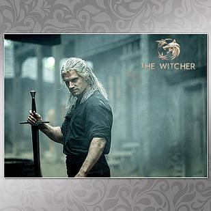 Плакат Ведьмак 003