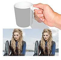 Чашка біла Вікінги Лагерта / Vikings