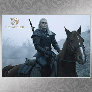 Плакат Ведьмак 005